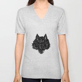 Wolf's Head Unisex V-Neck