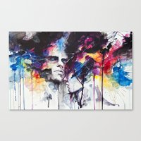 la Canvas Prints featuring la nostra infinita abnegazione  by agnes-cecile