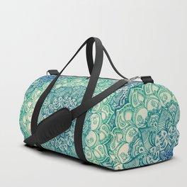 Emerald Doodle Duffle Bag