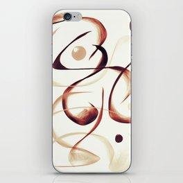 Caffeinated Dreams iPhone Skin
