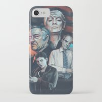 house of cards iPhone & iPod Cases featuring House of Cards by Barel Toledano