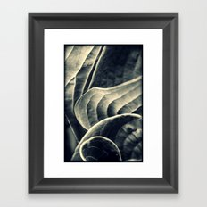 Unraveling Framed Art Print