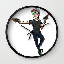 Chase Brody Wall Clock
