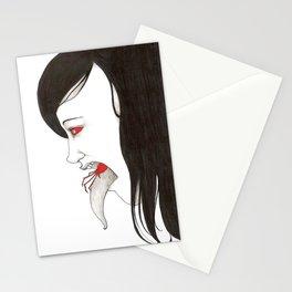 inner monster Stationery Cards
