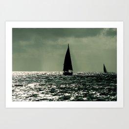 Sailboat Mexico Art Print