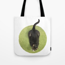 In every job that must be done, there is an element of fun. Tote Bag