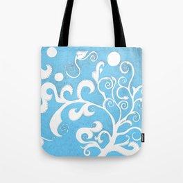 Fina Blue Tote Bag