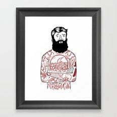 Matt the Hack Framed Art Print