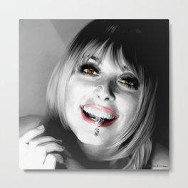 Sharon Tate Large Size Portrait Metal Print
