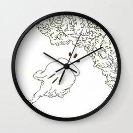 Grungy Energy Wall Clock