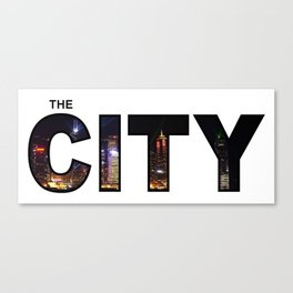The City - Version 5 Canvas Print