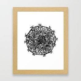 Akashic Sun Framed Art Print