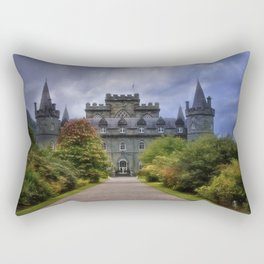 Night at the Castle Rectangular Pillow