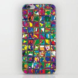 Stacks Geometric Art Print. iPhone Skin