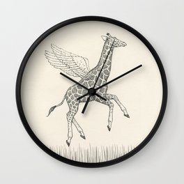 Mind Over Matter Wall Clock