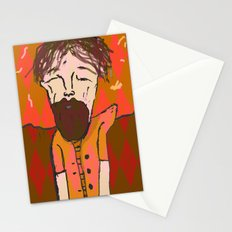 iron and wine  Stationery Cards