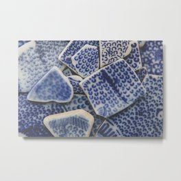 Japanese Sea pottery - Collection II Metal Print
