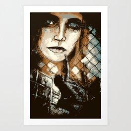 Unraveling Art Print