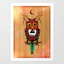Ever watchful Art Print