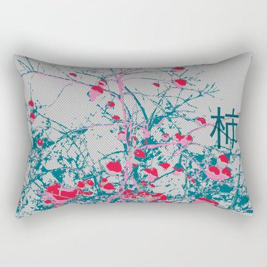 Kaki Tree (Lost Time) Rectangular Pillow