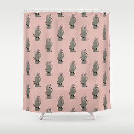 The Palmistry Hand Shower Curtain