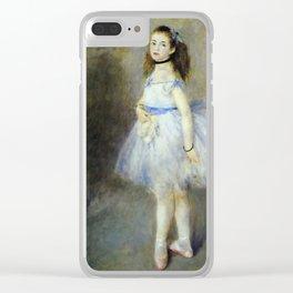 Auguste Renoir - The Dancer Clear iPhone Case