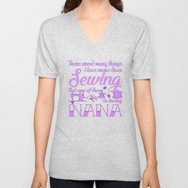 Sewing Nana Unisex V-Neck