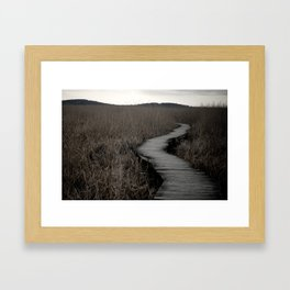 The Path II Framed Art Print