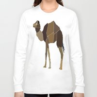 camel Long Sleeve T-shirts featuring Camel by ANIMALS + BLACK