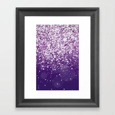 Glitteresques XVII Framed Art Print