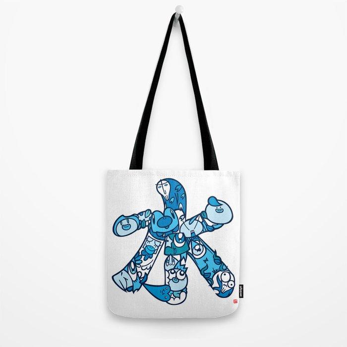 水 - WATER Tote Bag