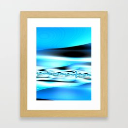 The Blues Framed Art Print