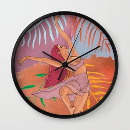 """""""Dance with Nature"""" Wall Clock"""