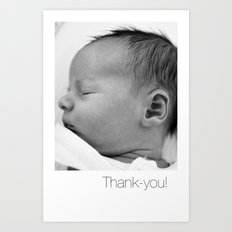 Elliott Thanks Art Print