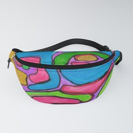 Ink Abstract Fanny Pack