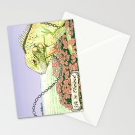 We're Chained Stationery Cards
