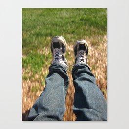 Feet First Canvas Print