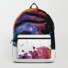 El Principito The Little Prince Fox Book Watercolor Art Backpack