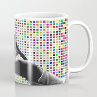 dirty dancing Mugs featuring Dancing by Cs025