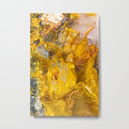 Fire Crystal #society6 #artist Metal Print