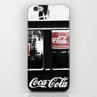 coca cola iPhone & iPod Skins featuring coca cola by Crimson Crazed
