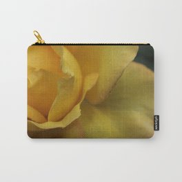 Yellow rose after the rain. Carry-All Pouch