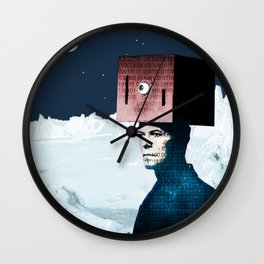 Life on Earth? - Tribute to David Bowie Wall Clock