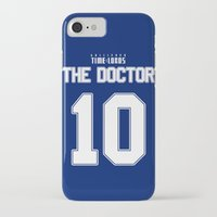 david tennant iPhone & iPod Cases featuring Team Tennant by trekvix