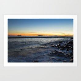 Moody Sea Art Print