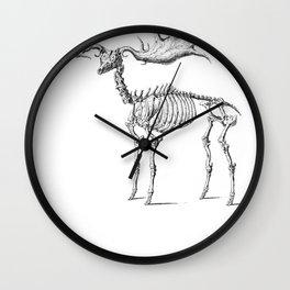 Dead Moose Wall Clock