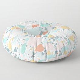 Modern Pastel Terrazzo / Ice Cream Palette Floor Pillow
