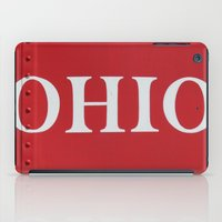 ohio iPad Cases featuring OHIO by Leah M. Gunther Photography & Design