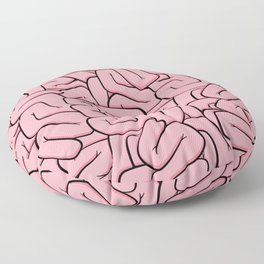 Guts or Brains - Pink Floor Pillow