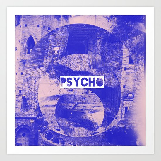 Phycho - Jebba Art Print